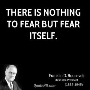 wise words from FDR